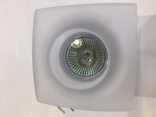 Faretto da incasso a soffitto per interni tondo orientabile color